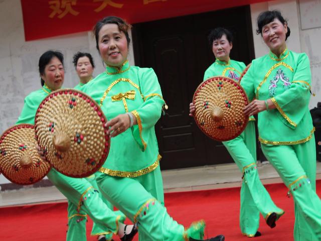 紅光社區歡樂迎國慶