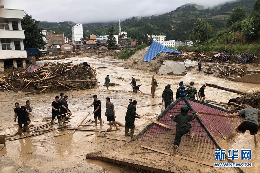 云南麻栗坡县发生洪涝灾害致5人死亡多人失联