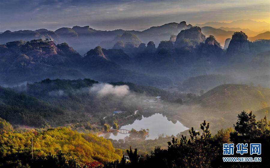 世界遗产 绿水青山