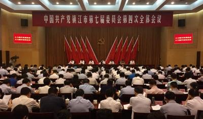 """干出""""两聚一高""""的苏南热度   上半年镇江经济社会发展综述"""