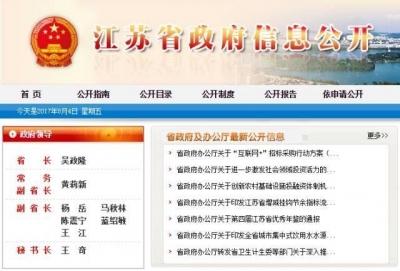 江苏省政府领导班子新调整,你关注的这里都有!
