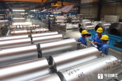 鼎胜新材连续3年铝箔材产量全球第一