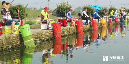 全民健身暨献爱心钓鱼比赛今天上午举行