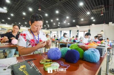 全省残疾人职业技能部分项目选拔赛在镇江举行