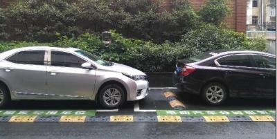 八佰伴共享汽车专用车位被占,多单位称不归自己管辖!