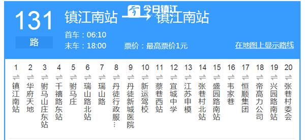 同学们上学放学方便啦! 宜城中学门口131路9月8日恢复原线