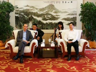 市委书记惠建林会见爱励国际董事会主席