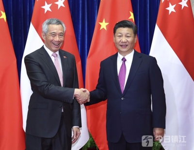习近平会见新加坡总理李显龙  新方:反对