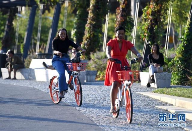 中国共享单车现身华盛顿