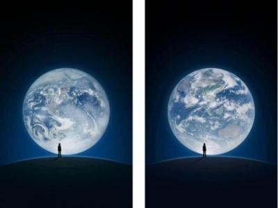 风云四号交付使用 微信启动图片将换成我卫星成像图