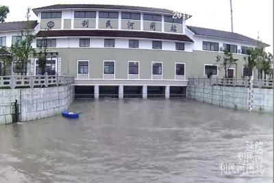 今天,丹阳城区降雨量超20年来同期降雨量