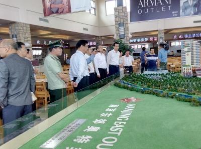 市委书记惠建林赴句容检查安全生产