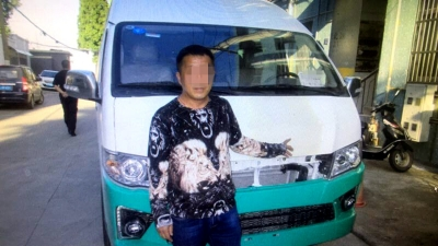 开无牌车撞人逃逸  丹阳警方24小时内破案
