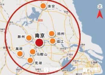 """宁镇扬一体化南京用""""地铁""""构建半小时都市圈"""