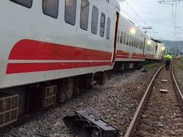 台列车又发生脱轨事故  系近1年半以来第6起