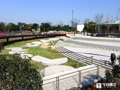 """镇江市首个海绵公园主体基本完工  多种技术""""在线""""净化雨水"""