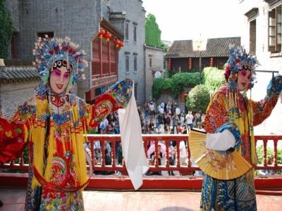 西津古渡社区开展街巷剧场活动