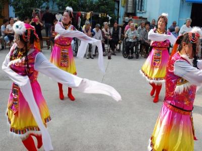 红光社区喜迎国庆67周年活动