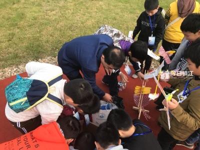全国青少年航空、航天模型教育竞赛 (江苏预选赛)在镇江起飞