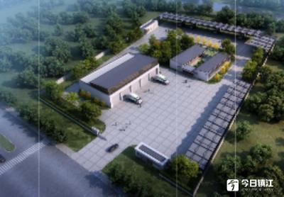 """句容新建两座垃圾转运中心 可""""消化""""未来十年城区生活垃圾"""