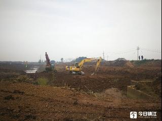 姚桥东风港通江工程有序推进 2018年底前全部完成