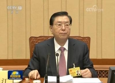 十二届全国人大常委会第三十次会议在京闭幕 张德江主持会议