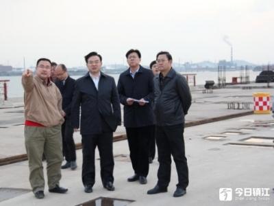 丹徒区领导赴高桥镇调研考察
