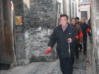 """镇江""""大爱之星""""集体——平安锣志愿者团队"""