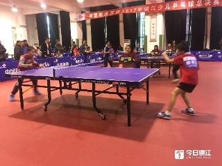 镇江市少儿乒乓球冠军赛落拍  市乒乓球运动学校学员成绩优秀