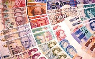 数家银行调整外币投资收益