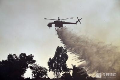"""""""不要睡得太熟"""" 美国加州山火肆虐 当局发史上最高警告"""