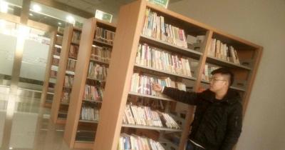 金山水城社区书屋入选省级农家书屋
