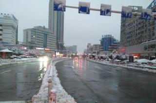 镇江应对暴雪冰冻天气取得决定性胜利