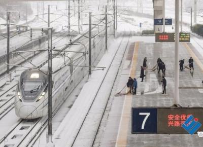 铁路镇江站范围线路畅通 少量列车晚点或停运