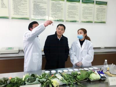 市长张叶飞开展春节前安全生产检查