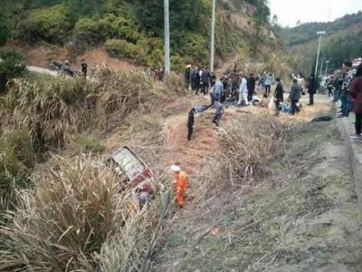 江西客车事故已致11人死亡 涉事企业法人代表被依法控制