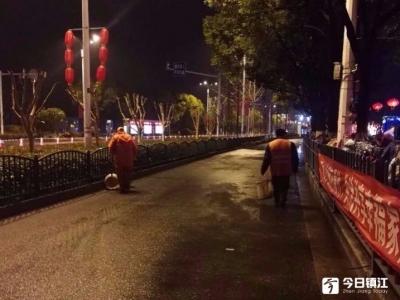 春节假期7天,镇江市区清运垃圾5605吨