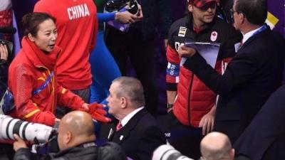 中国队将就冬奥会短道速滑决赛判罚一致性申诉