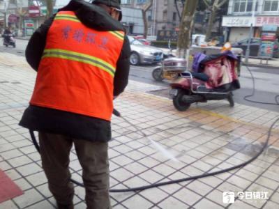 市区7天清运垃圾5605吨 3300名环卫工人、600名城管人员春节坚守一线