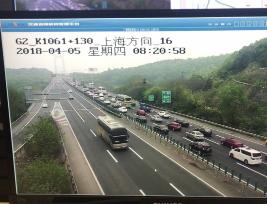 江苏高速路网运行总体稳定,局部路段出现阶段性车辆排队、缓行情况