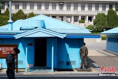 朝韩首脑会晤前夕探访会晤地点板门店