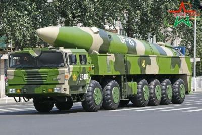 国防部:东风-26型导弹列装火箭军部队
