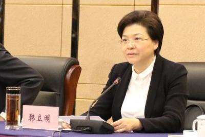 省委决定:韩立明同志任中共泰州市委书记
