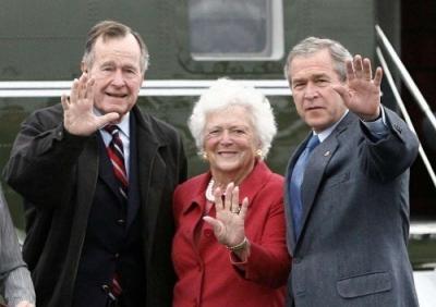 那个先后见证老公和儿子主政美国的老太太辞世