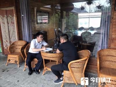 扎根句容天王镇8年  他用服务赢得客户认可