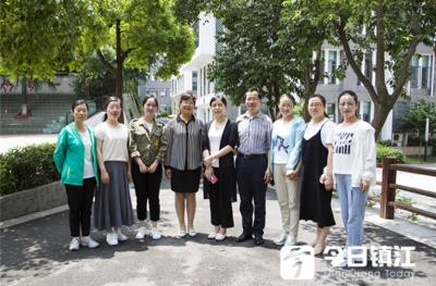 甘肃原泉小学教学团队走进镇江红旗小学参观交流
