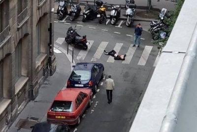 法国巴黎发生歹徒持刀袭击路人事件致1死8伤 极端组织宣称负责