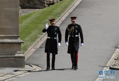 高清图请收好 英国哈里王子成婚