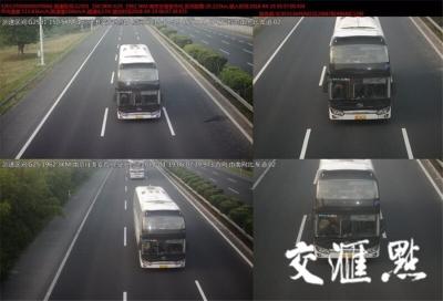 宁连高速南京段启动全线区间测速 一周抓拍近千起超速违法
