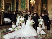 哈里王子官方结婚照发布